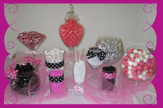 The Sweet Spa Candy Buffet